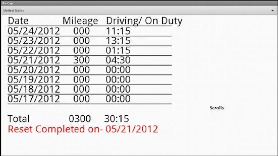 Drivers Daily Log- screenshot thumbnail