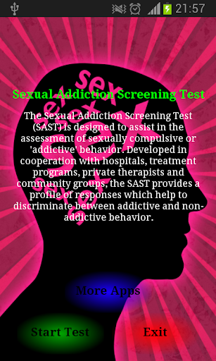 Sexual Addiction Test