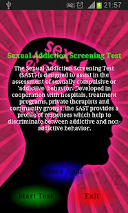 Sex addiction test online