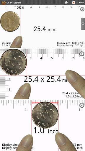 巻尺 分度器 : Smart Ruler Pro