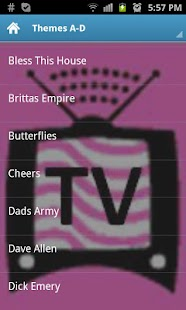 TV Themes of UK comedy shows- screenshot thumbnail