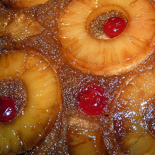 Crock Pot Pecan Pineapple Upside Down Cake