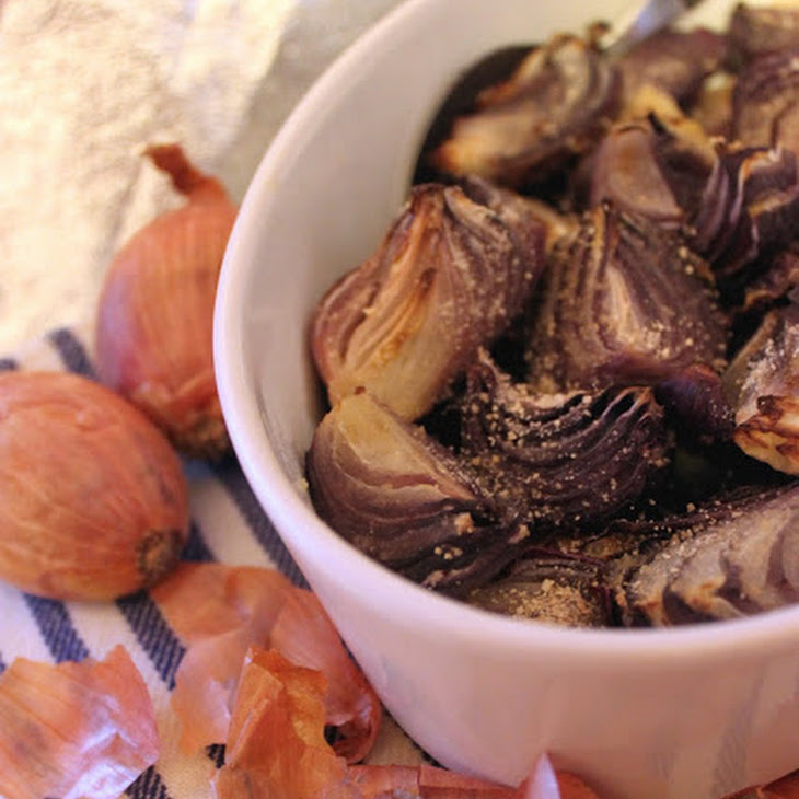 Roasted Red Onions Recipe
