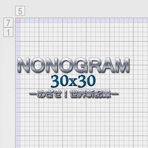Nonogram 30×30 for PC and MAC