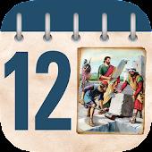 Biblical Character Calendar