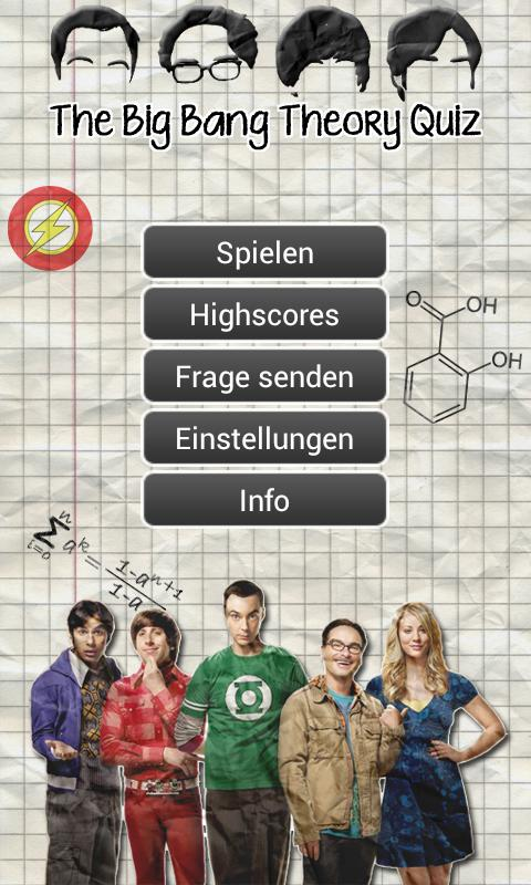 The Big Bang Theory Quiz De - screenshot