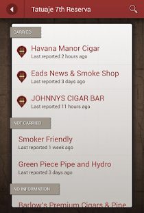 Cigar Finder - screenshot thumbnail