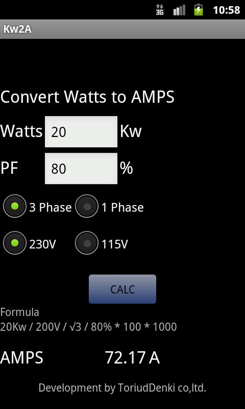 How to convert volt ampere to watts | electrical formulas | va and.