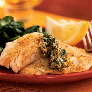 Skillet Fillets with Cilantro Butter