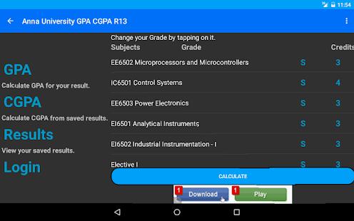 Student's Desk - GPA - CGPA - screenshot thumbnail