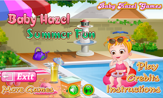 Screenshot of Baby Hazel Summer Fun