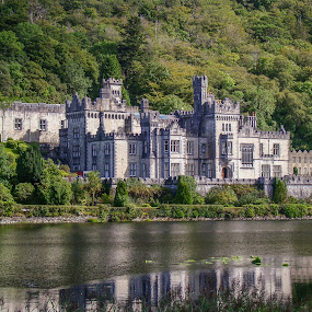 Kylemore Abbey, Ireland by Lee Davenport - Buildings & Architecture Public & Historical