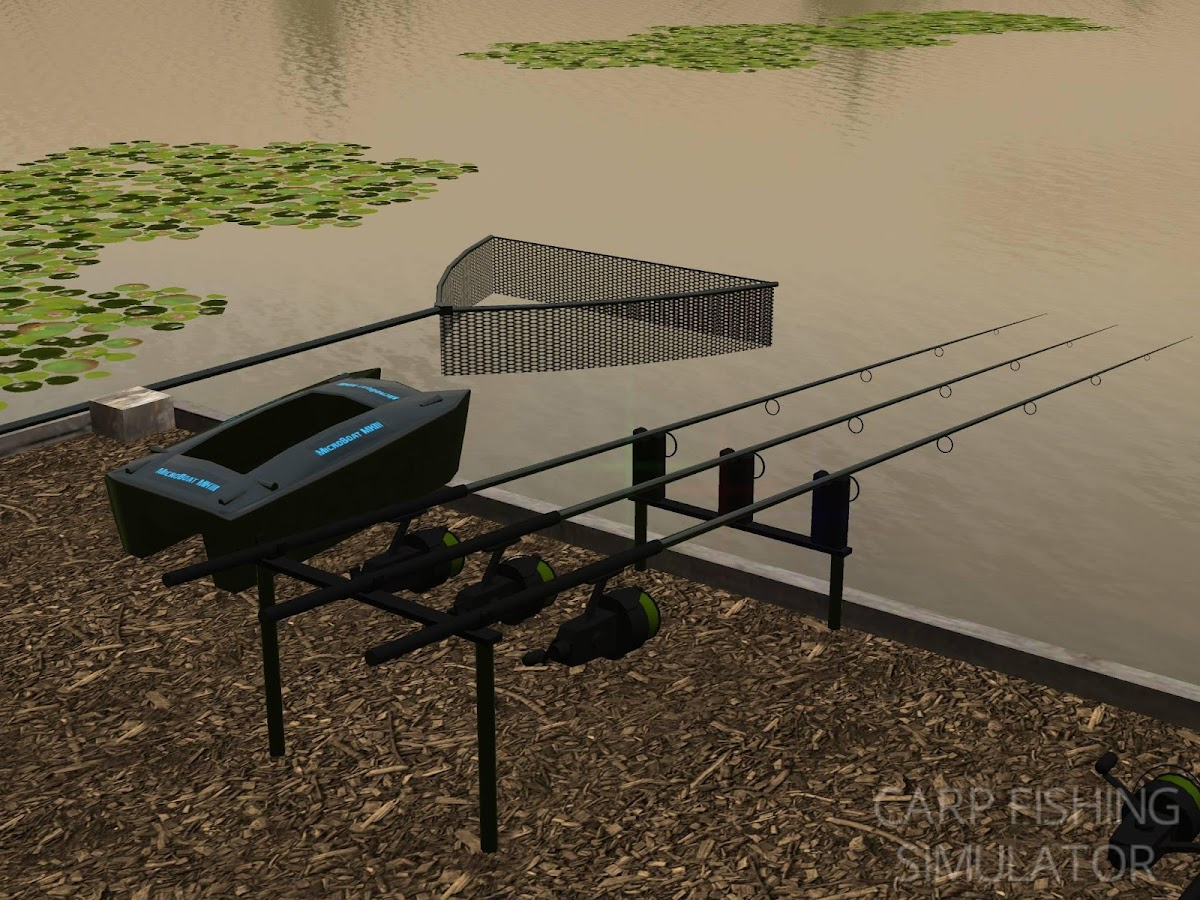 Carp Fishing Simulator - screenshot