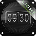 Glass clock. widget. LIGHT. APK for Bluestacks