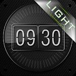Glass clock. widget. LIGHT. 9 Apk