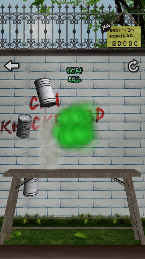 Can Knockdown - 3D - screenshot