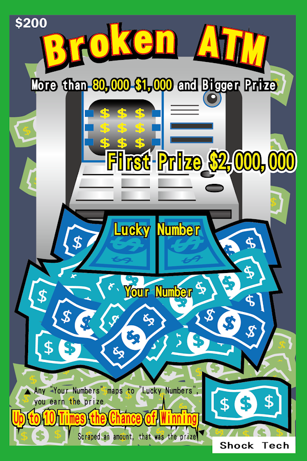 Las Vegas Scratch Ticket- screenshot