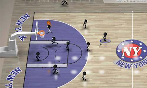 Stickman Basketball v1.6 (Unlocked)