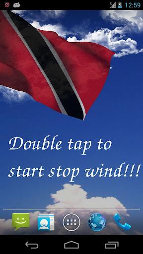 3D Trinidad Tobago Flag LWP+