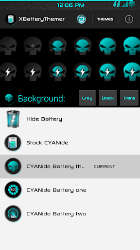XPOSED Battery CYANide Three