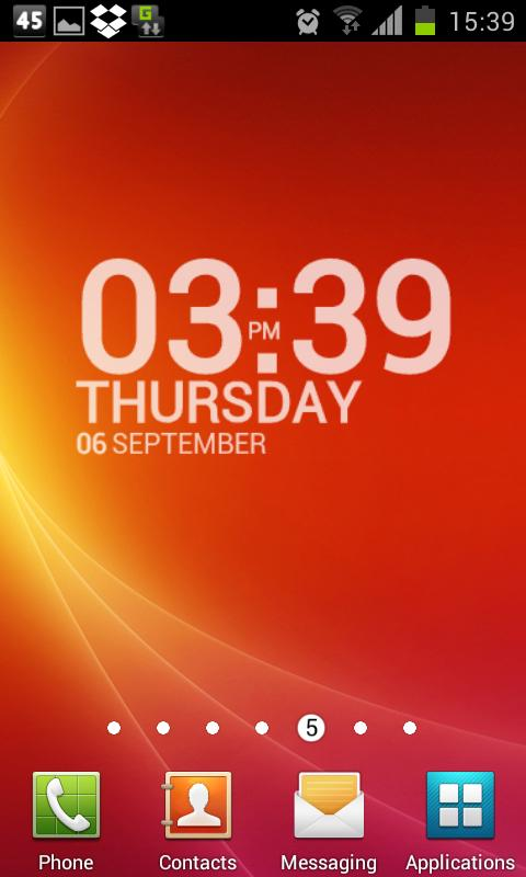 TypoClock Free - screenshot