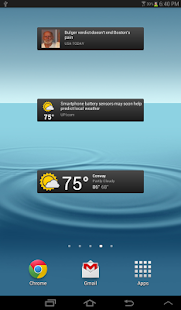 News & Weather (beta) - screenshot thumbnail