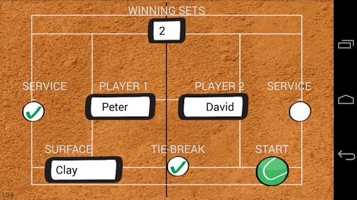 Tennis Scout PRO Score Keeper