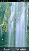Screenshot of Waterfall Live Wallpaper