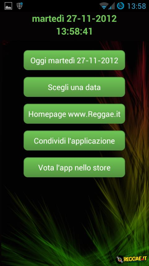 Reggae Events in Italy- screenshot