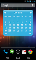 Screenshot of My Month Calendar Widget Lite