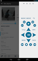 Screenshot of Music Pump XBMC / Kodi Remote