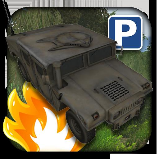 3D軍事停車場 模擬 LOGO-玩APPs
