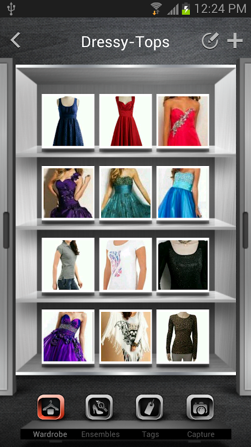 Wardrobe Organizer - screenshot