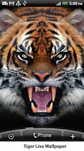 Tiger Live Wallpaper- screenshot thumbnail
