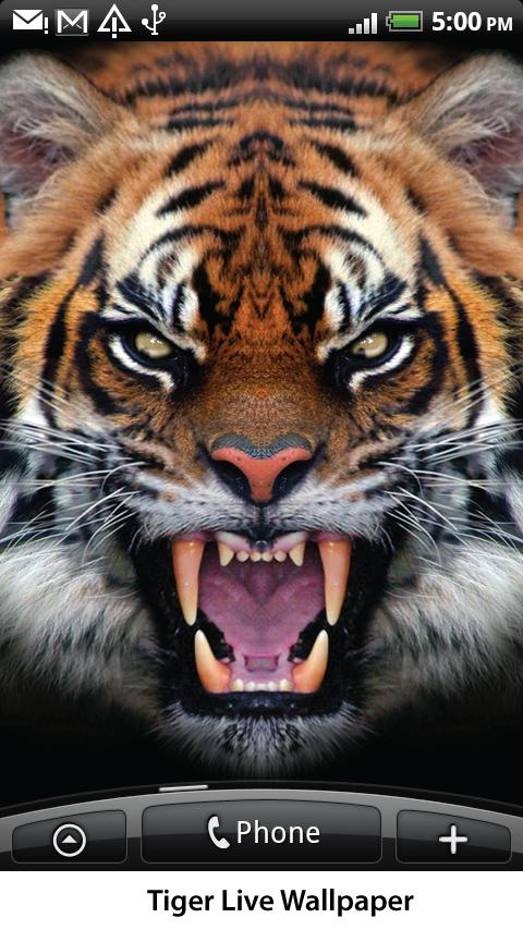 Tiger Live Wallpaper- screenshot
