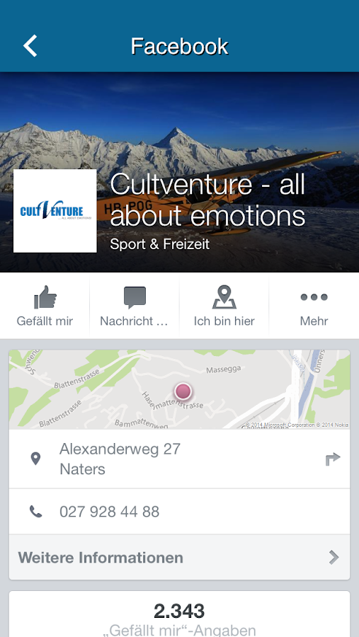CultVenture all about emotions – Screenshot