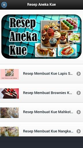 Video Resep Aneka Kue