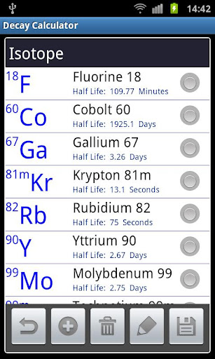isotope decay calculator