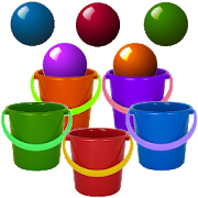 Bucket Roleta - Bucket Bubble Ball Game