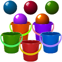Bucket Roleta-Learn Colors Kid icon