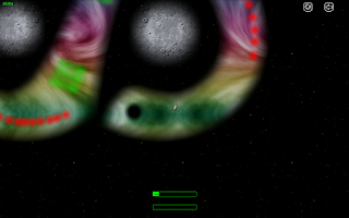 Screenshot of Gravity Blast