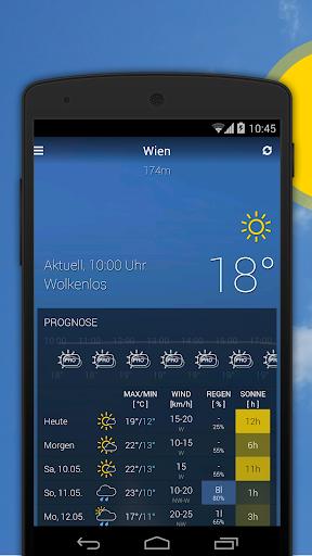 bergfex/Weather App - Forcast Radar Rain & Webcams  screenshots 2