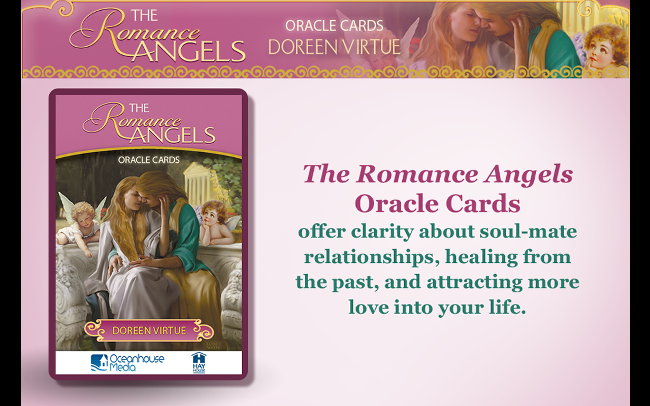 Romance Angels Oracle Cards - screenshot