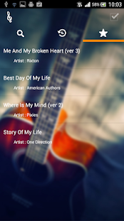 Song Chord Finder - screenshot thumbnail
