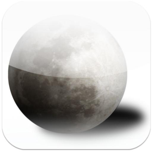 Moon map LOGO-APP點子