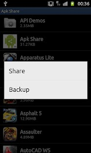 Apk Share & Backup - screenshot thumbnail