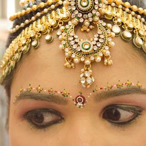 Bridal's Eye by Palak Patel - People Body Parts ( girl, bridal, makeup, eyes,  )