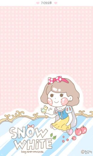Snow White cacao Flick theme