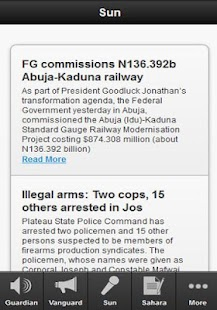 Nigerian Newspapers Today - screenshot thumbnail