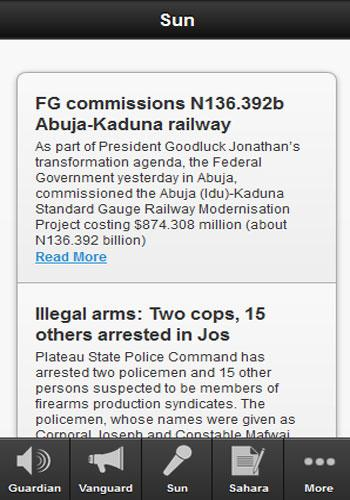 Nigerian Newspapers Today - screenshot